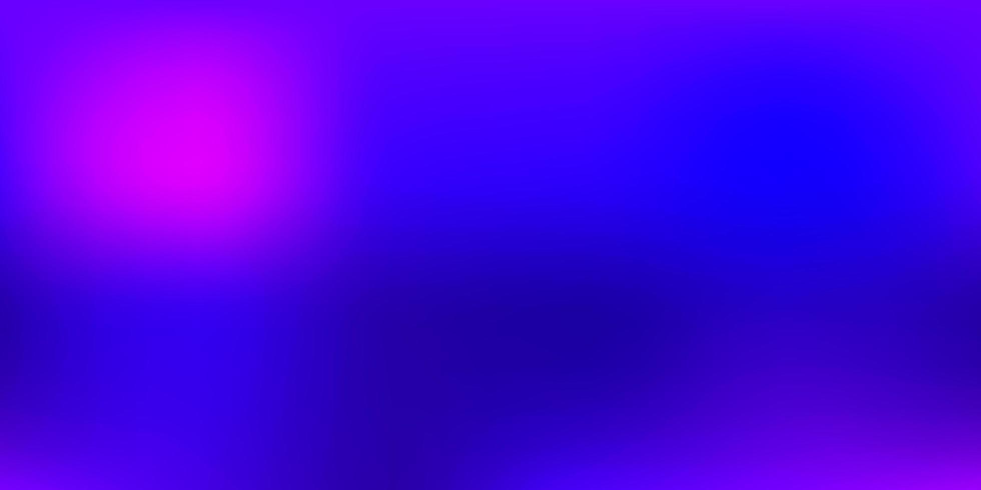 Fondo de desenfoque degradado de vector púrpura oscuro.