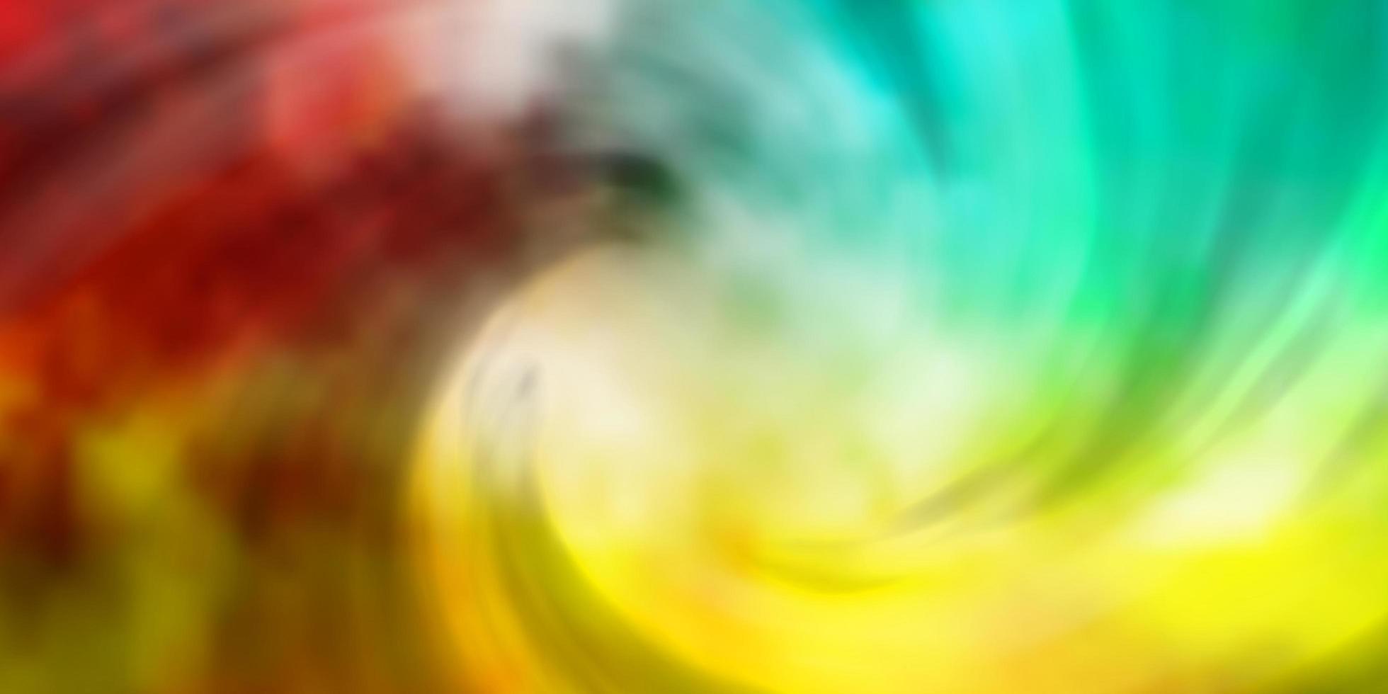 Telón de fondo de vector multicolor claro con cúmulos.