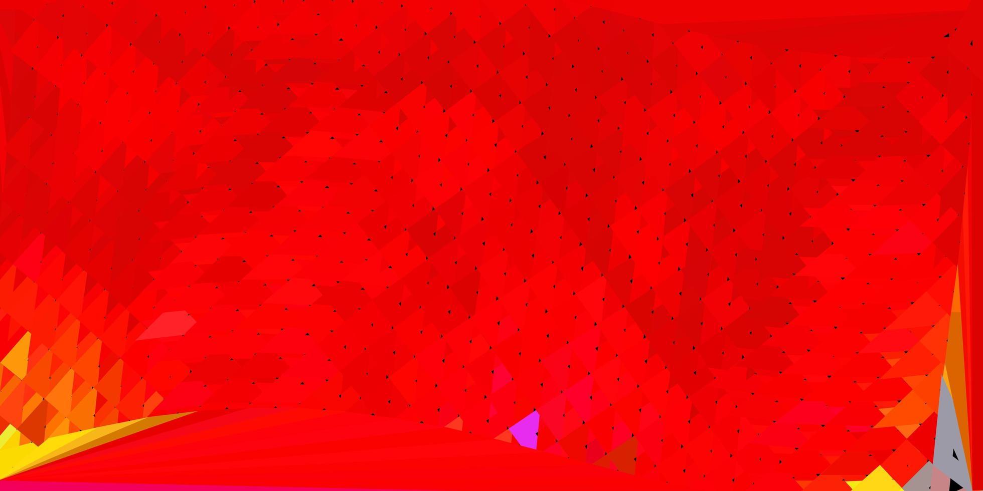 Fondo de pantalla de polígono degradado de vector rojo oscuro.