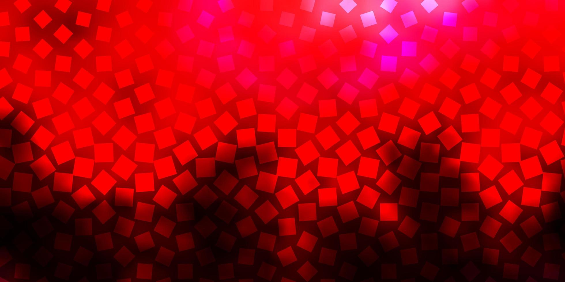 diseño de vector de color rosa oscuro, rojo con líneas, rectángulos.
