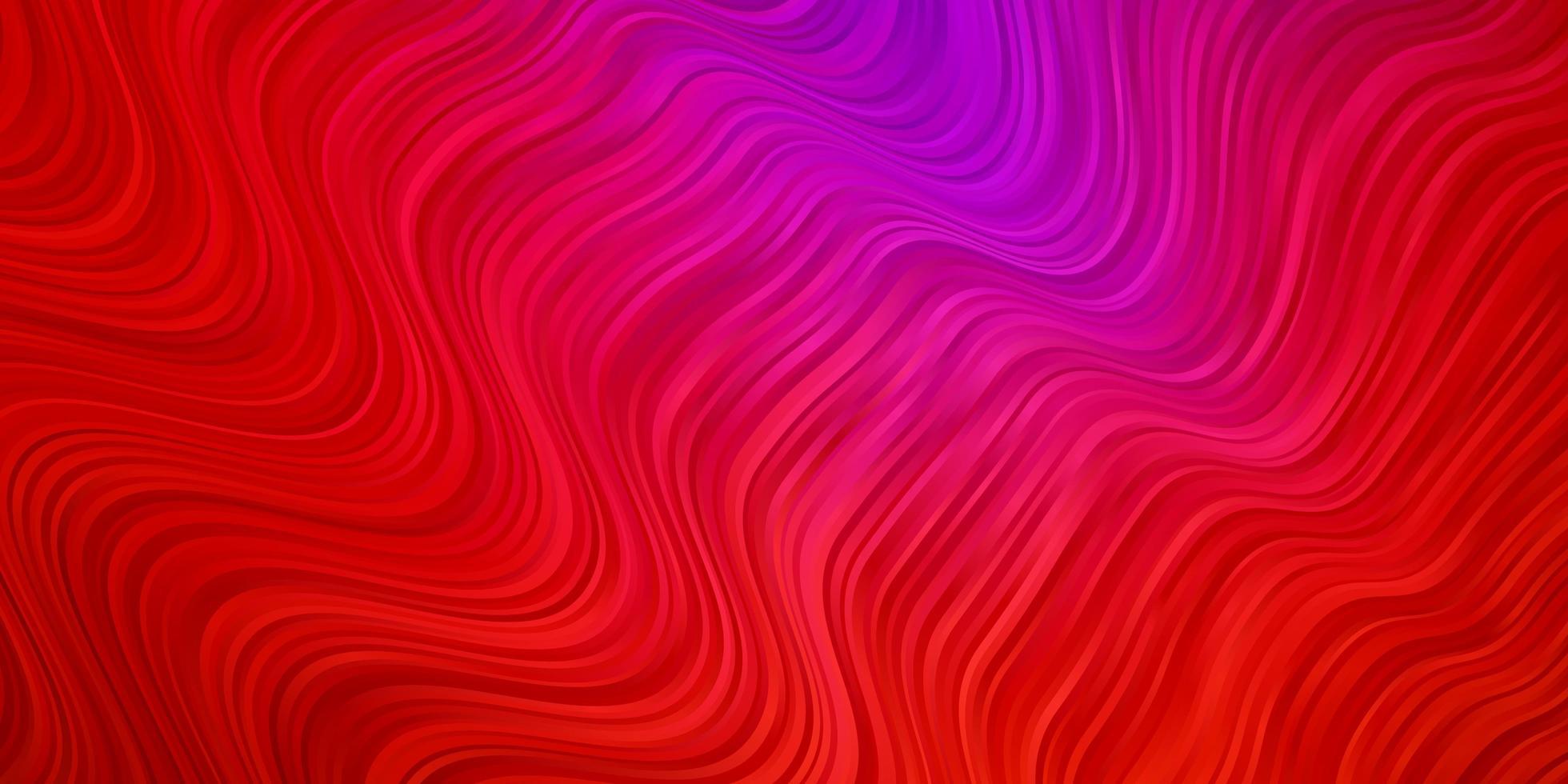 Fondo de vector de color rosa oscuro, rojo con arcos.