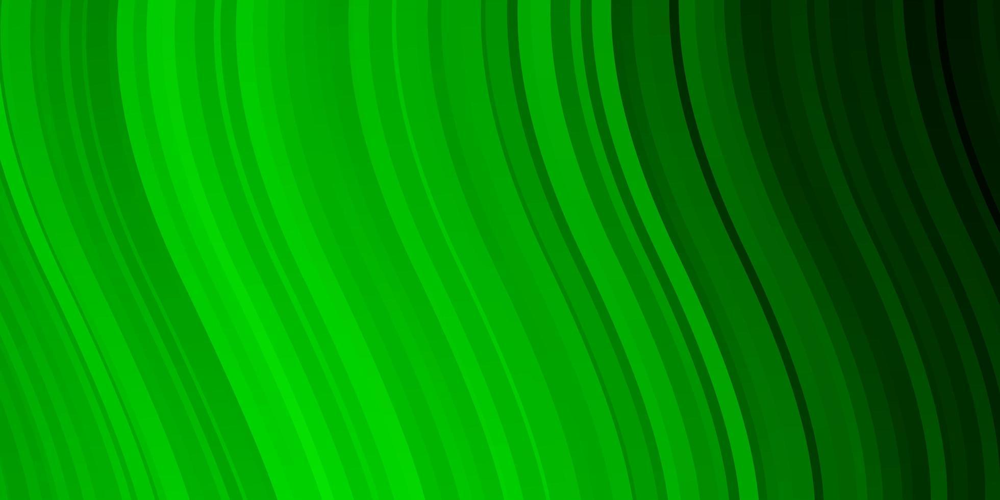 diseño de vector verde claro con arco circular.