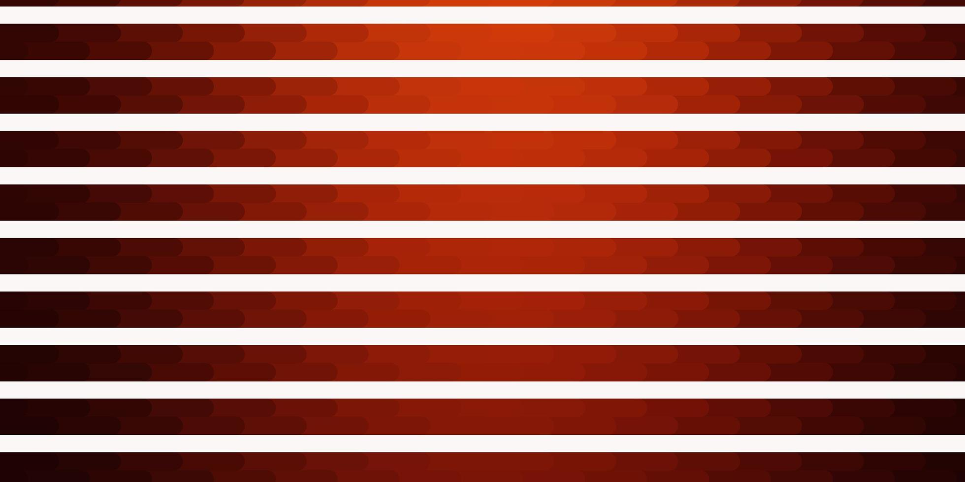 Light Red vector pattern with lines.