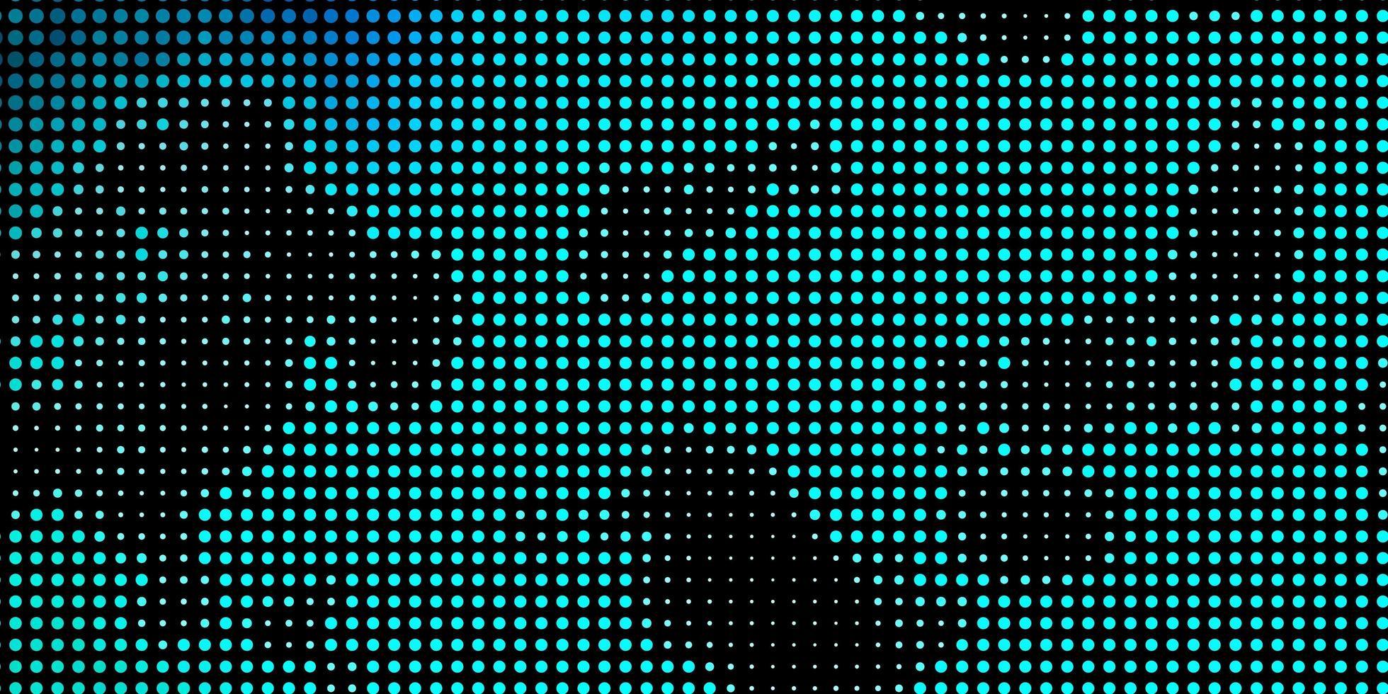textura de vector azul claro con círculos