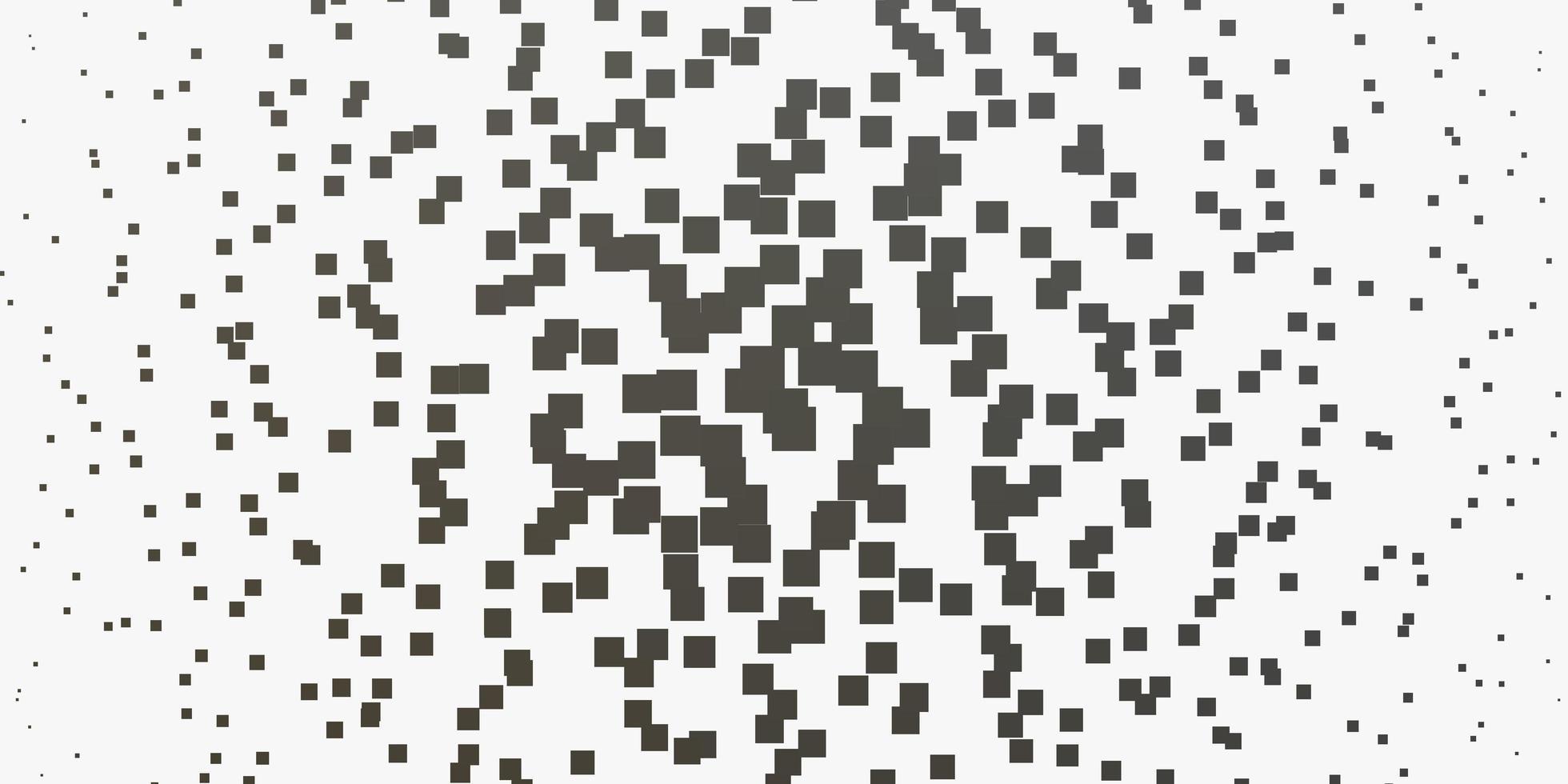 textura de vector gris claro en estilo rectangular.