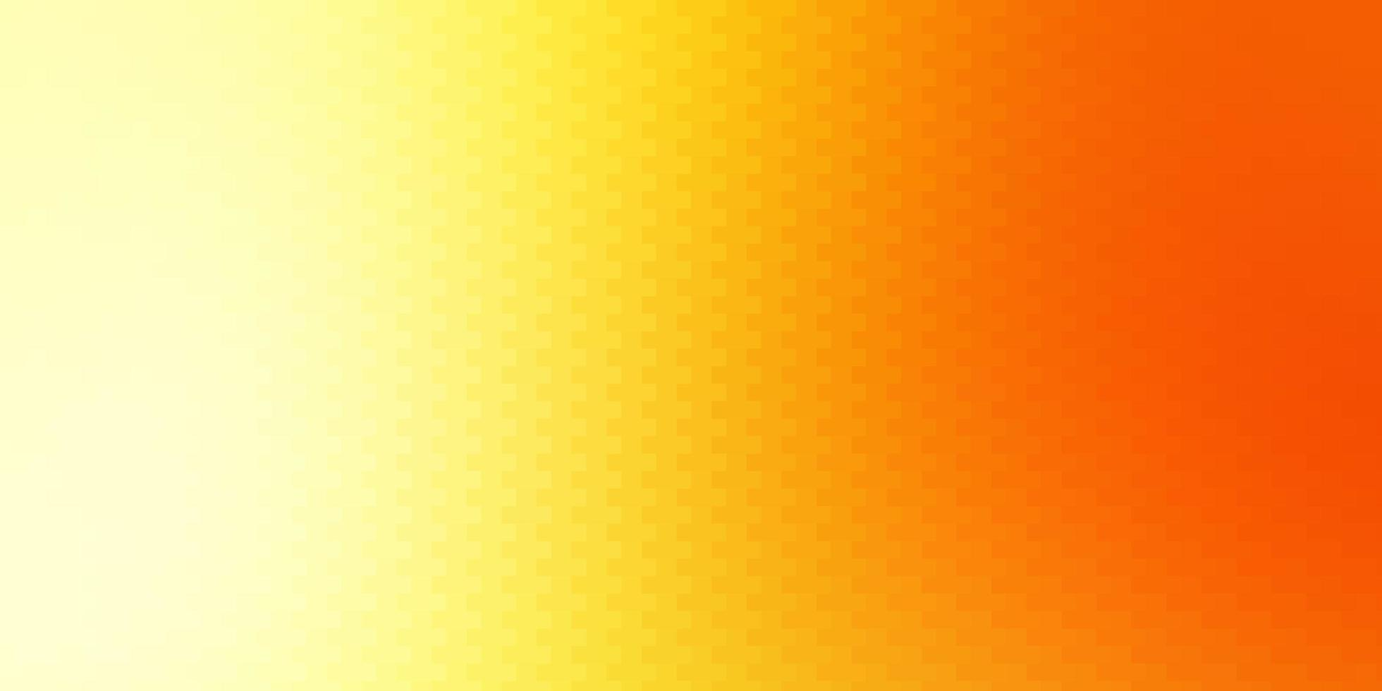 Light Red, Yellow vector background with rectangles.