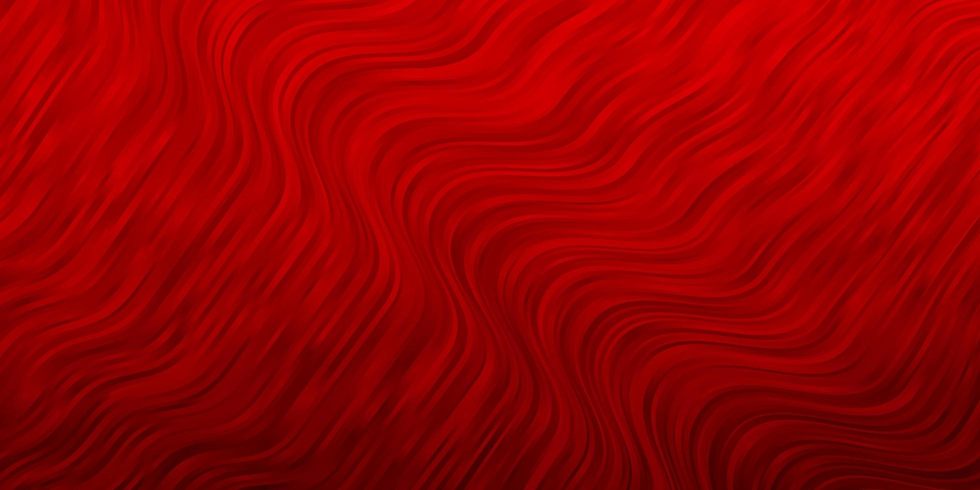 Telón de fondo de vector rojo oscuro con arco circular.