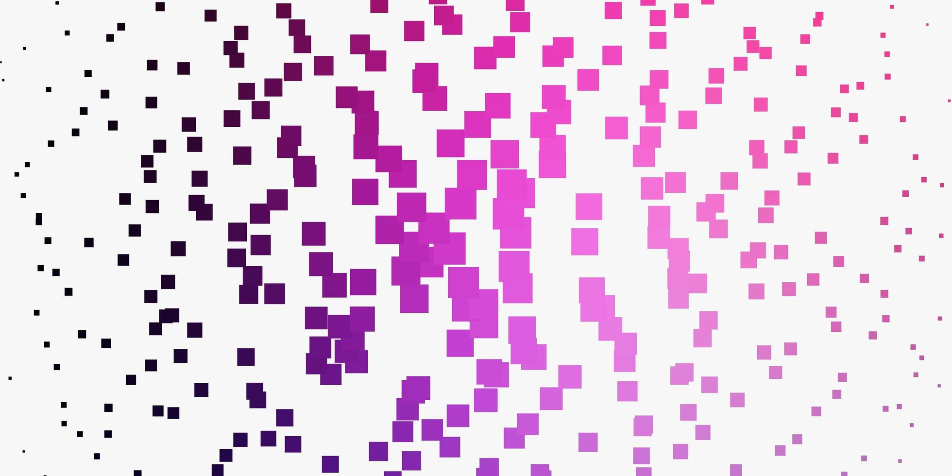 Light Purple, Pink vector backdrop with rectangles.