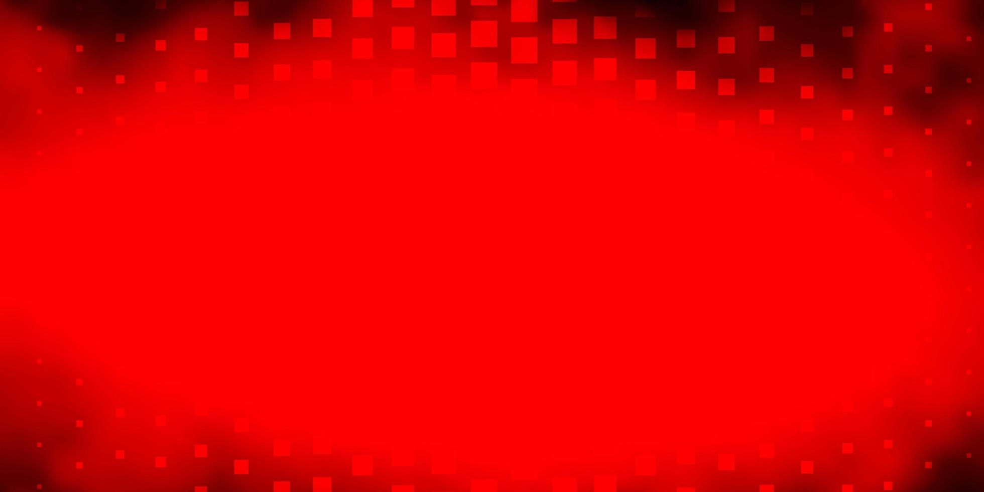 Dark Red vector backdrop with rectangles.