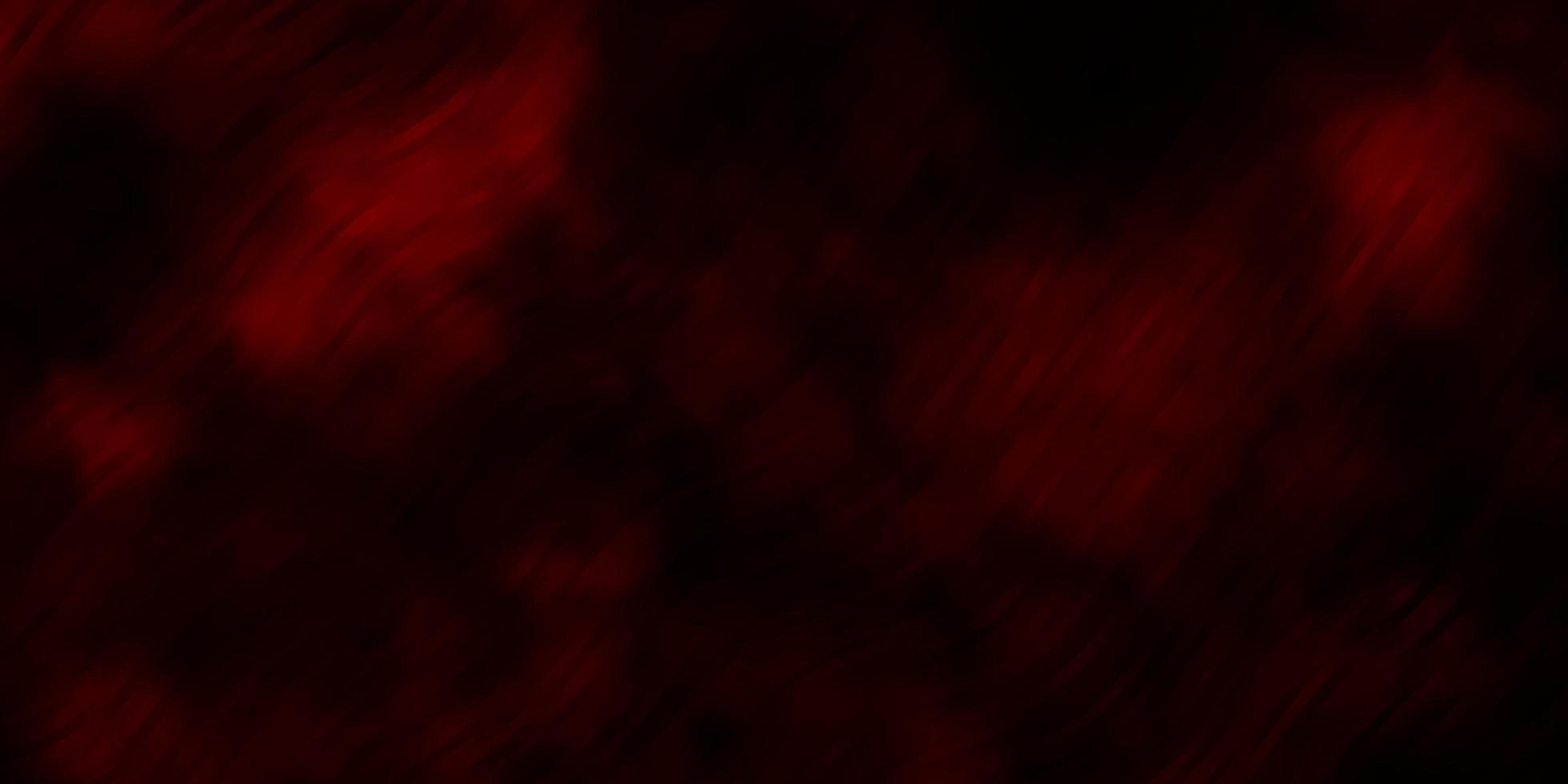 Diseño vectorial rojo oscuro con arco circular. vector