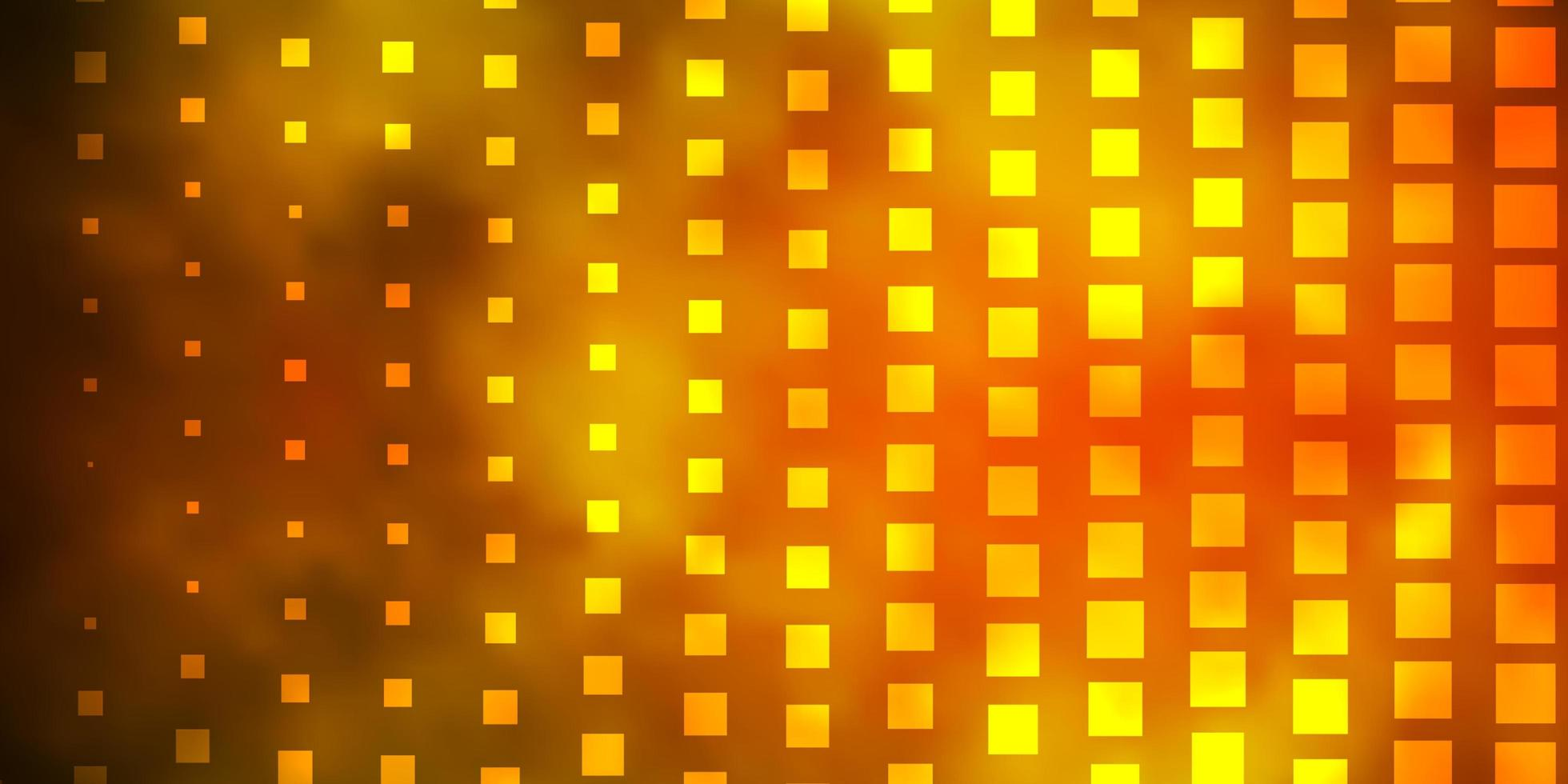 Dark Green, Yellow vector pattern in square style.