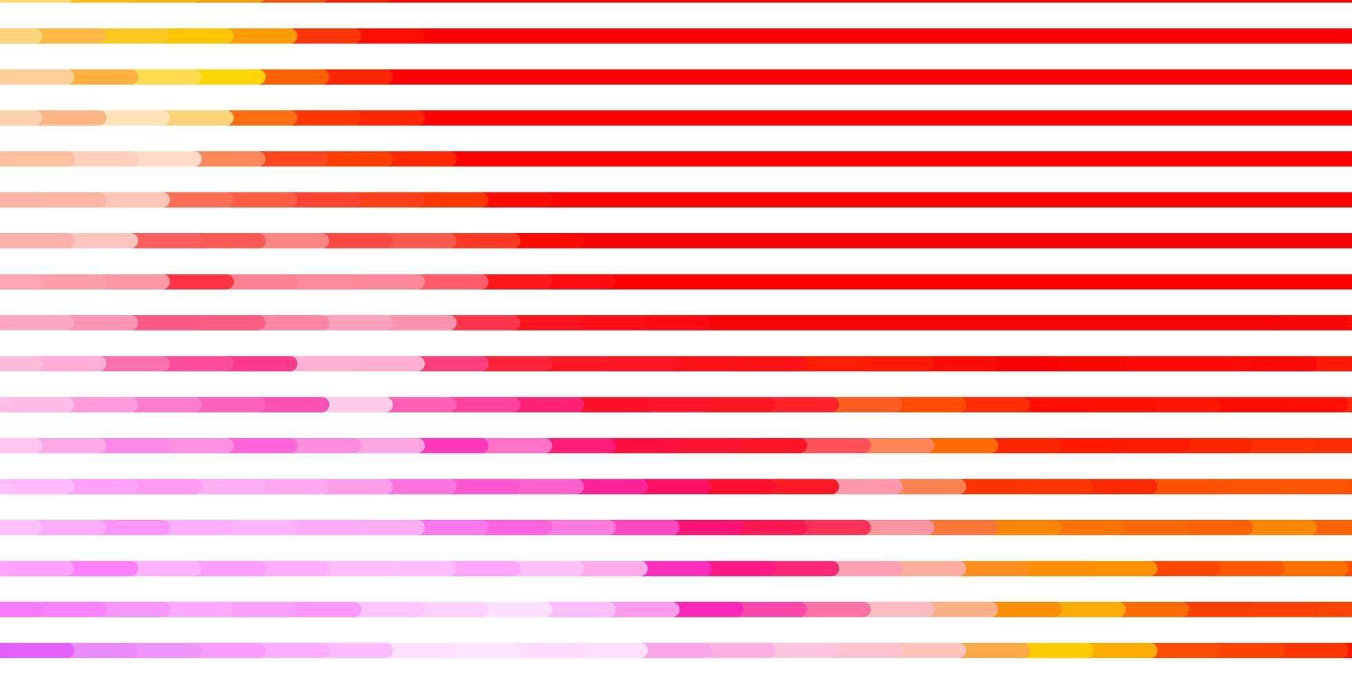 Telón de fondo de vector multicolor claro con líneas.