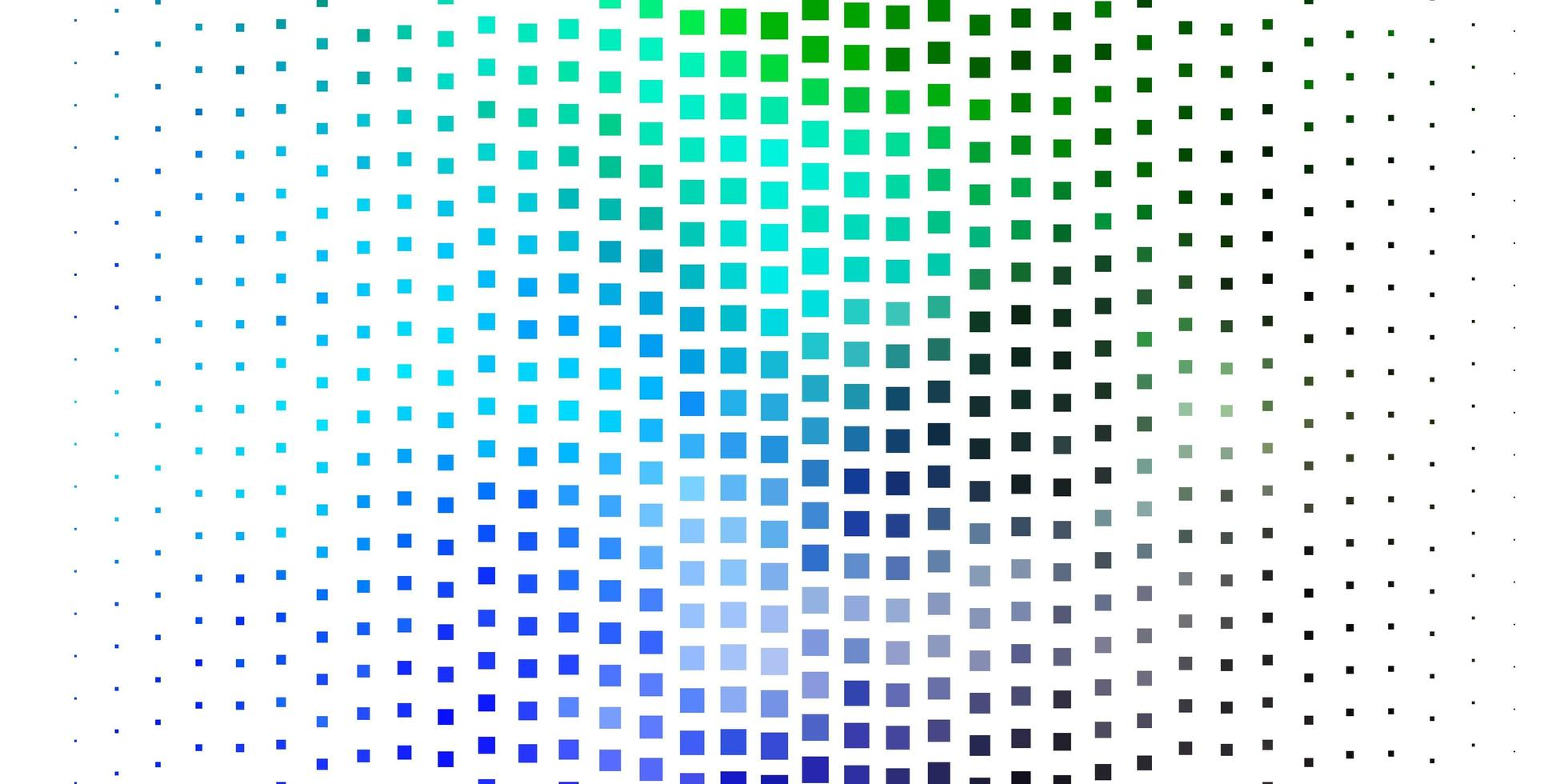 diseño de vector azul oscuro, verde con líneas, rectángulos.