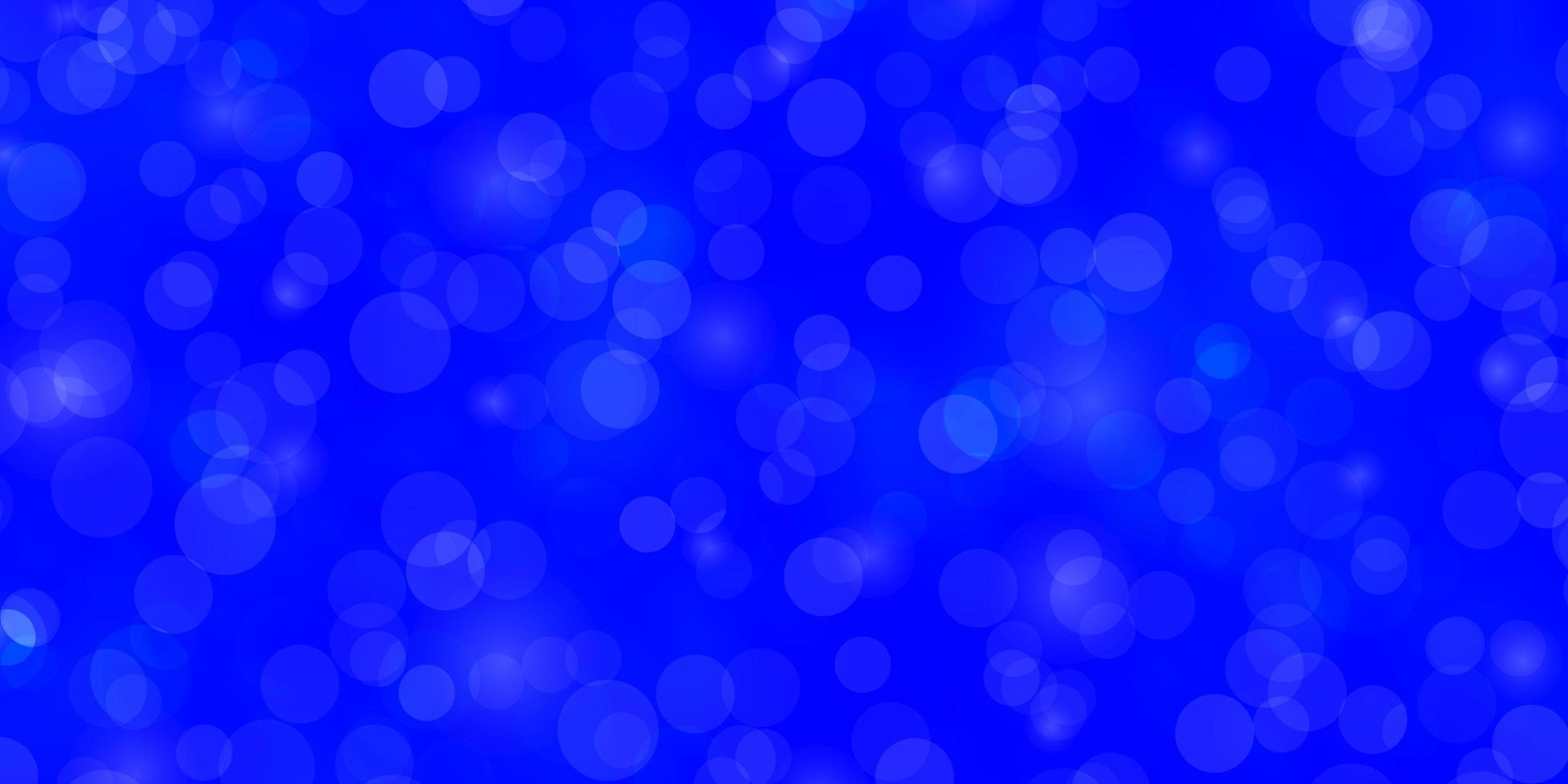 Light BLUE vector backdrop with circles.