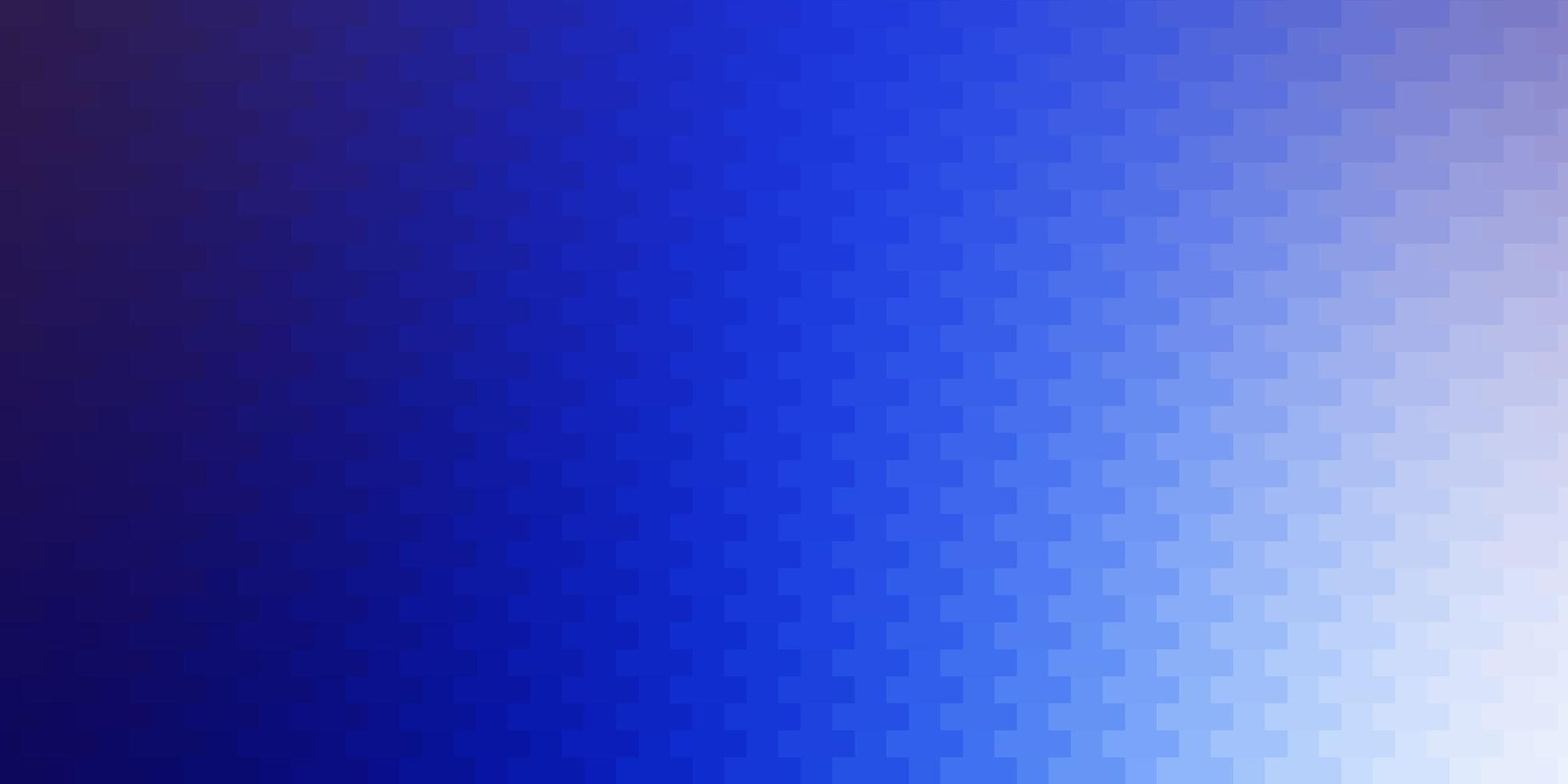 Telón de fondo de vector rosa claro, azul con rectángulos.