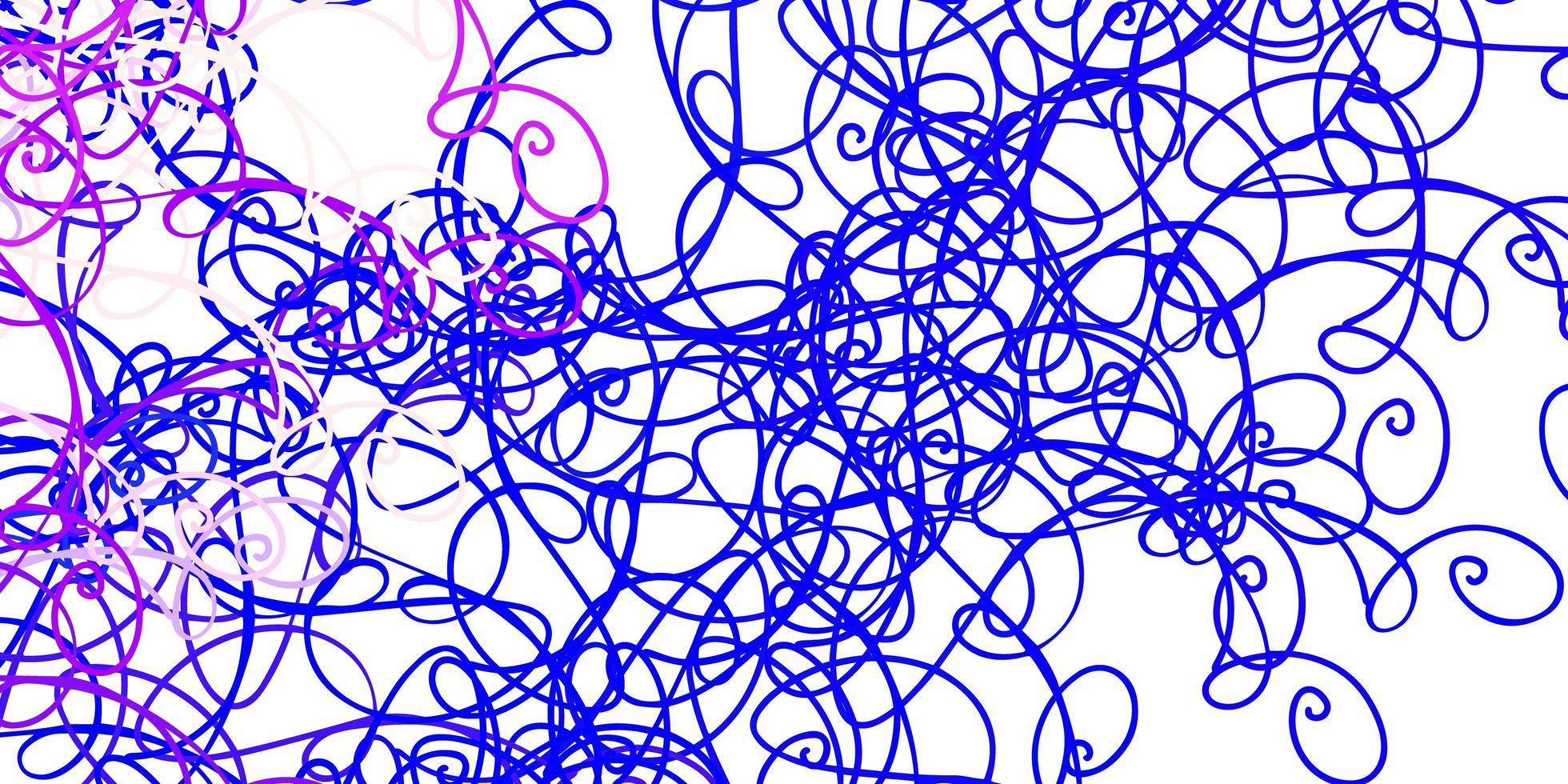 Fondo de vector de color rosa claro, azul con arco circular.