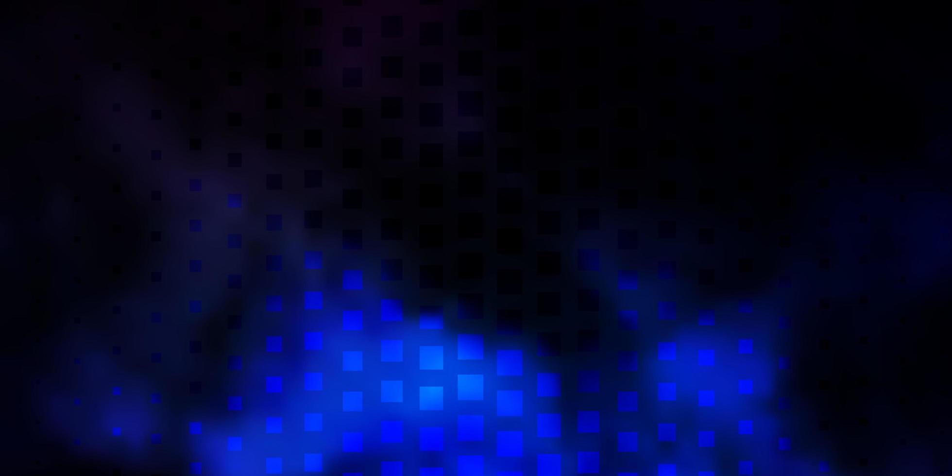 Dark BLUE vector template in rectangles.