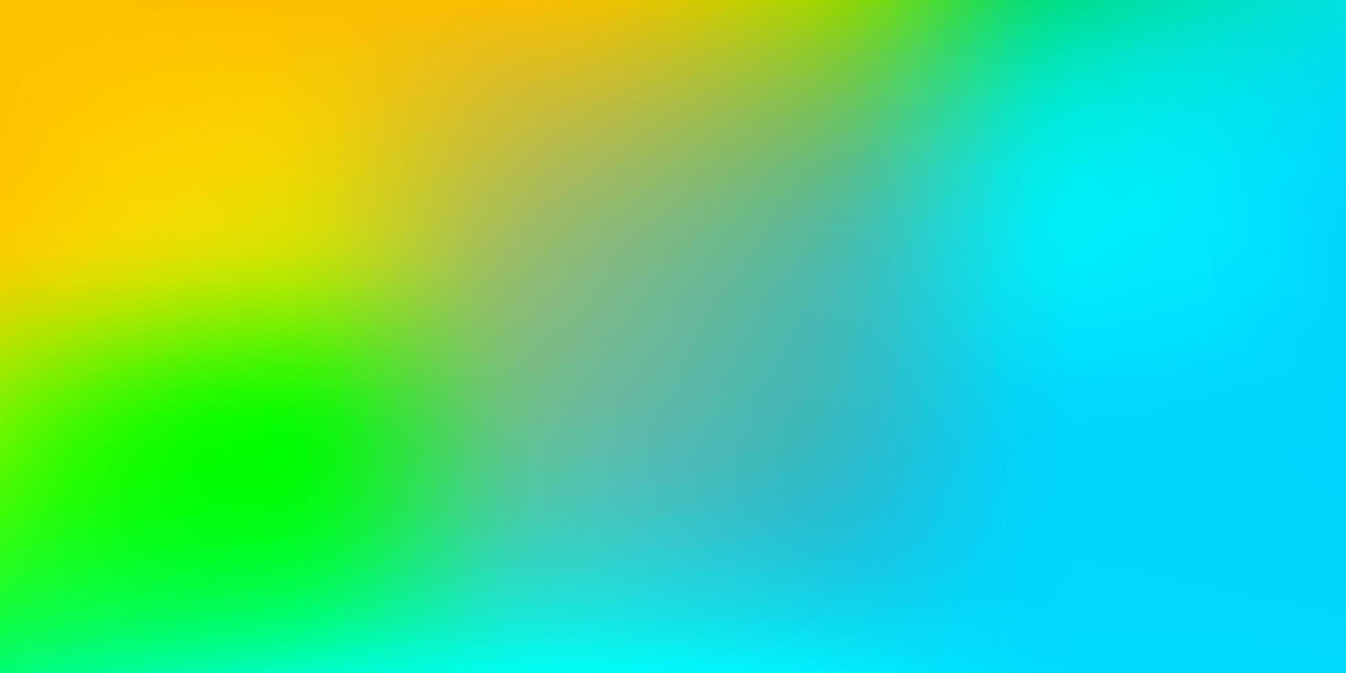 Light Blue, Yellow vector gradient blur texture.