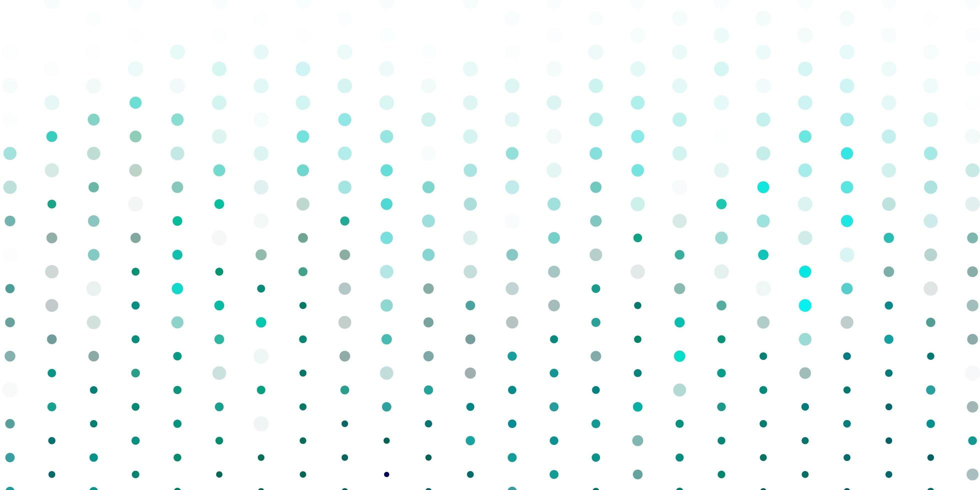 Light blue, green vector backdrop with dots.