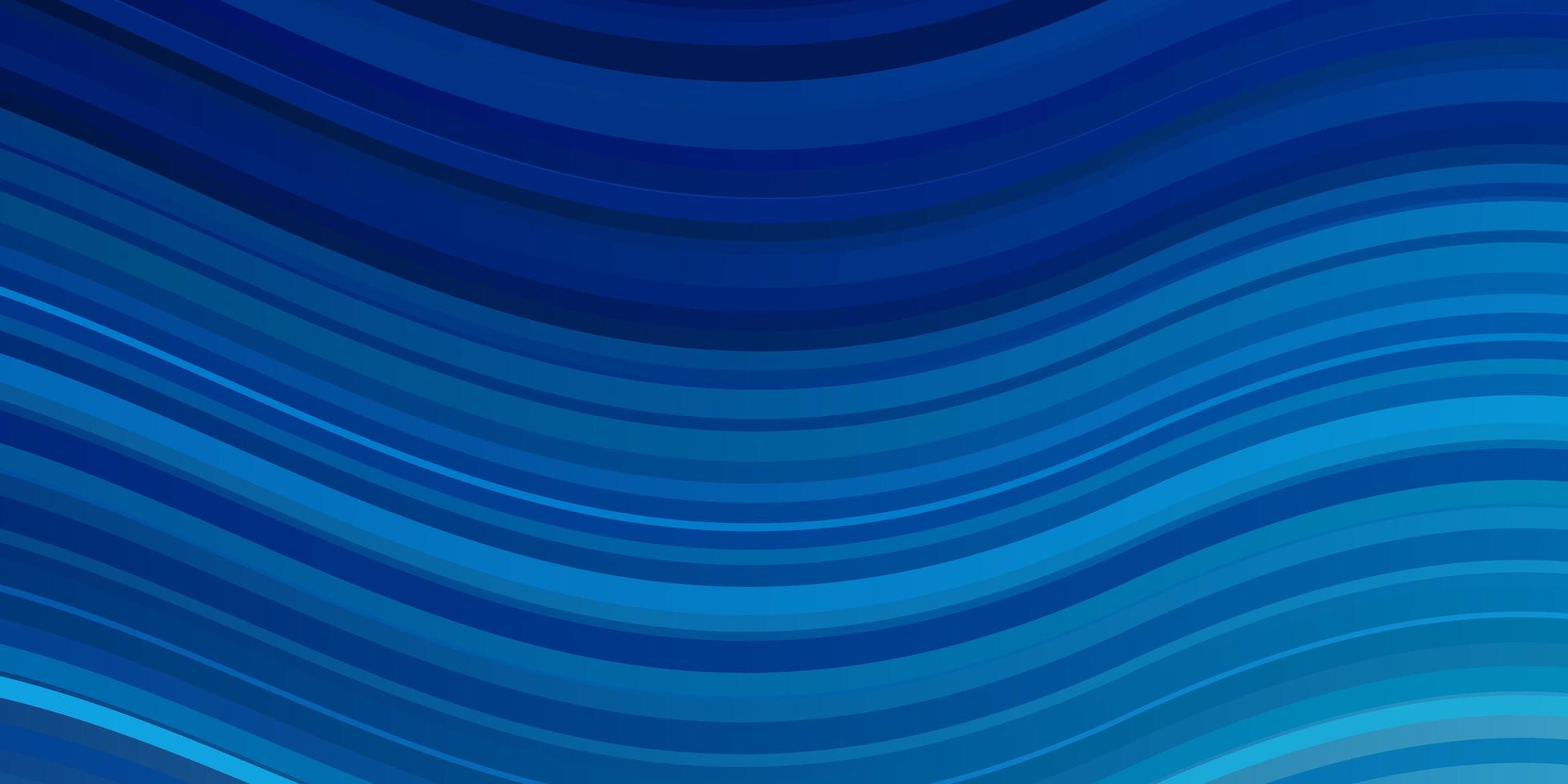 Light BLUE vector pattern with curved lines.