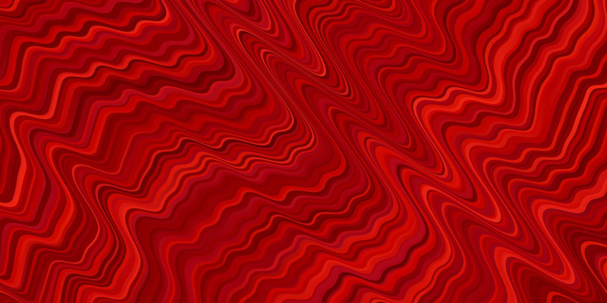 Light Red vector background with lines.
