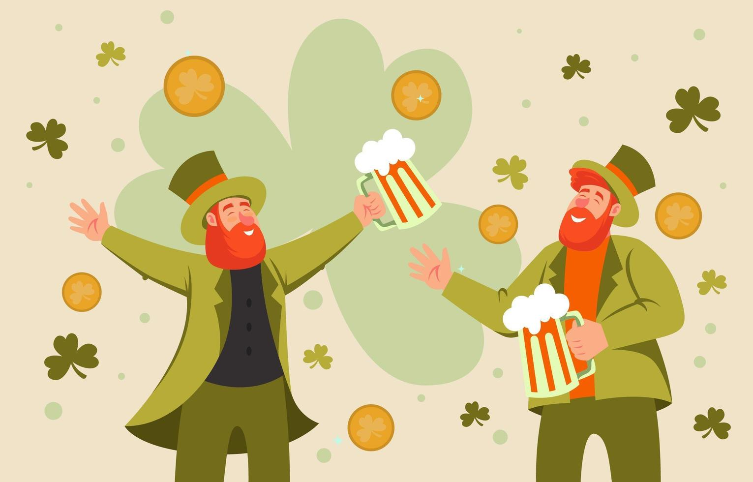 St.Patricks Day Celebration Party vector