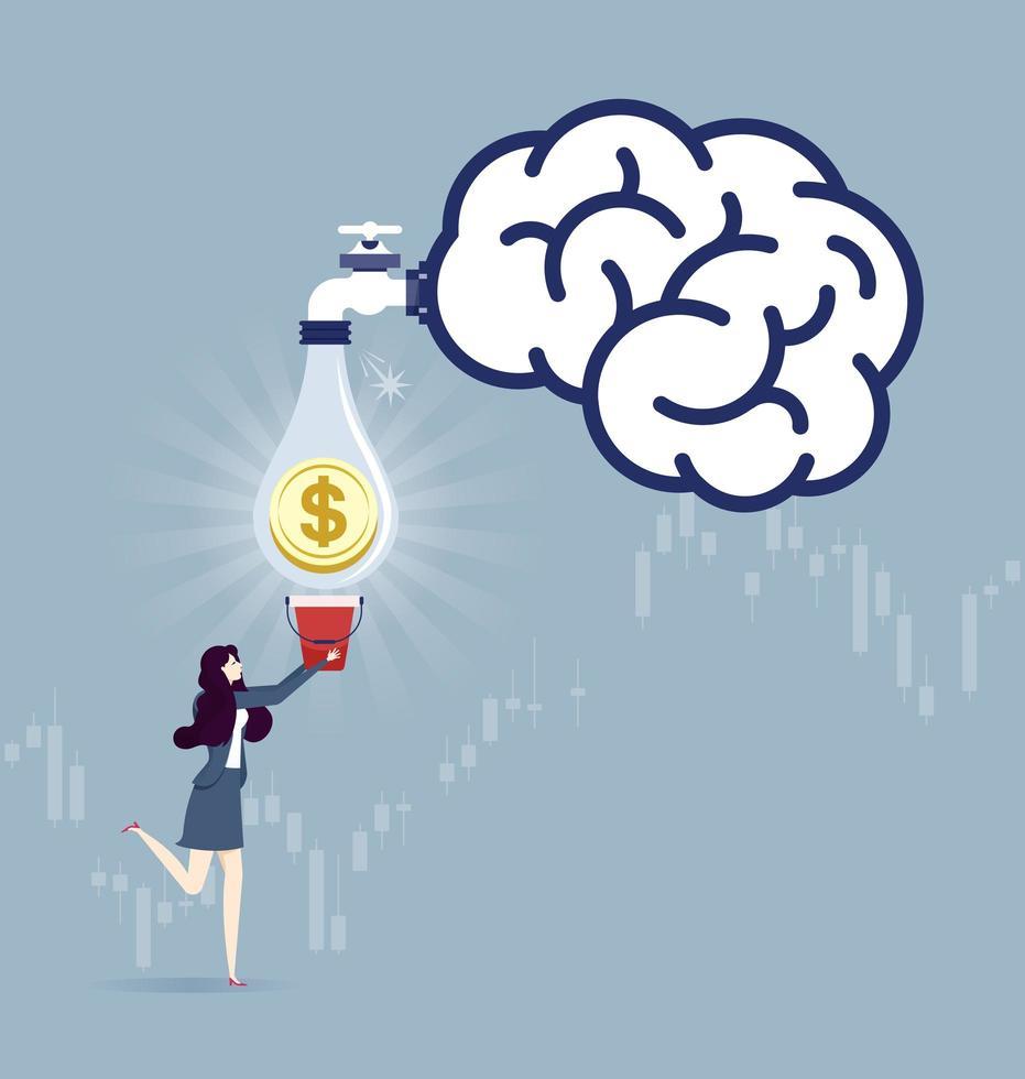 Create idea - Business concept vector