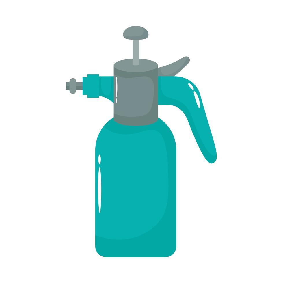 icono de estilo plano de botella de spray vector