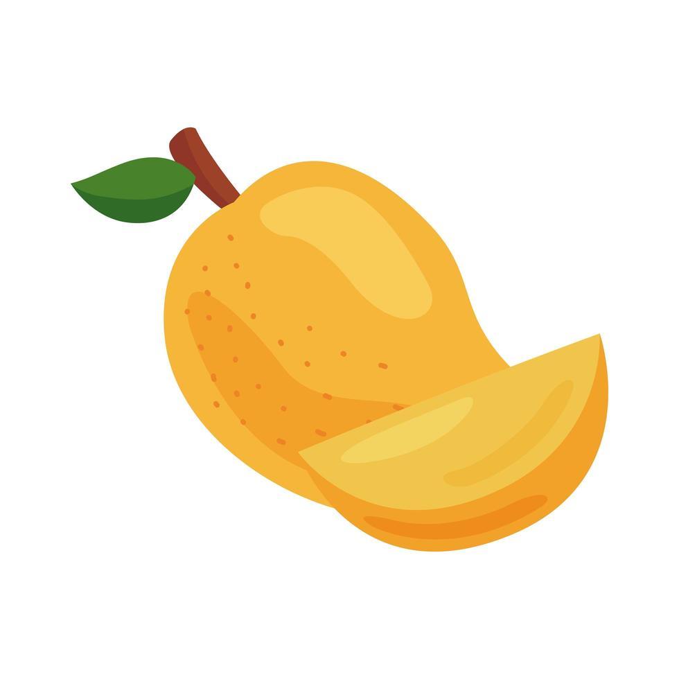 icono de comida sana de fruta de guayaba fresca vector