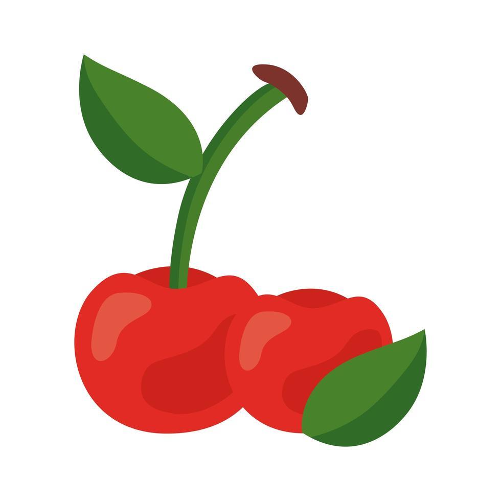 tomate fresco vegetal comida sana icono vector
