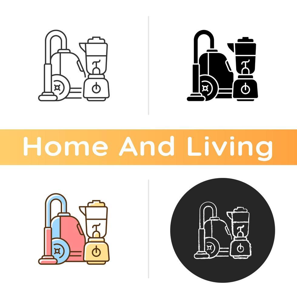 House appliances icon vector