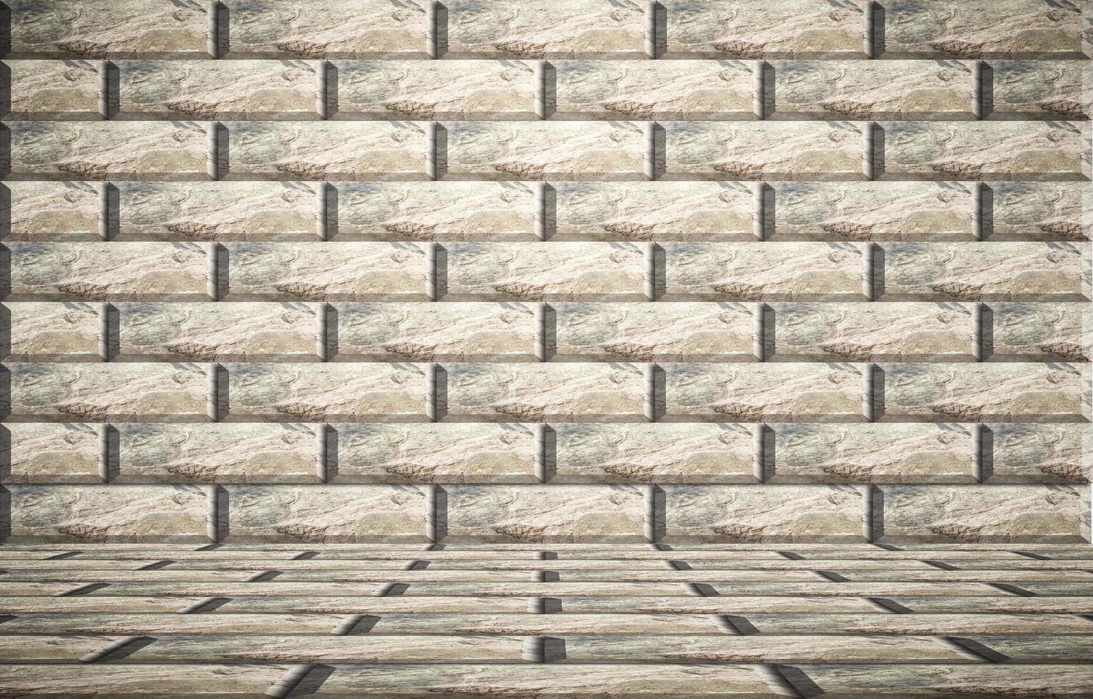 Brick wall background photo
