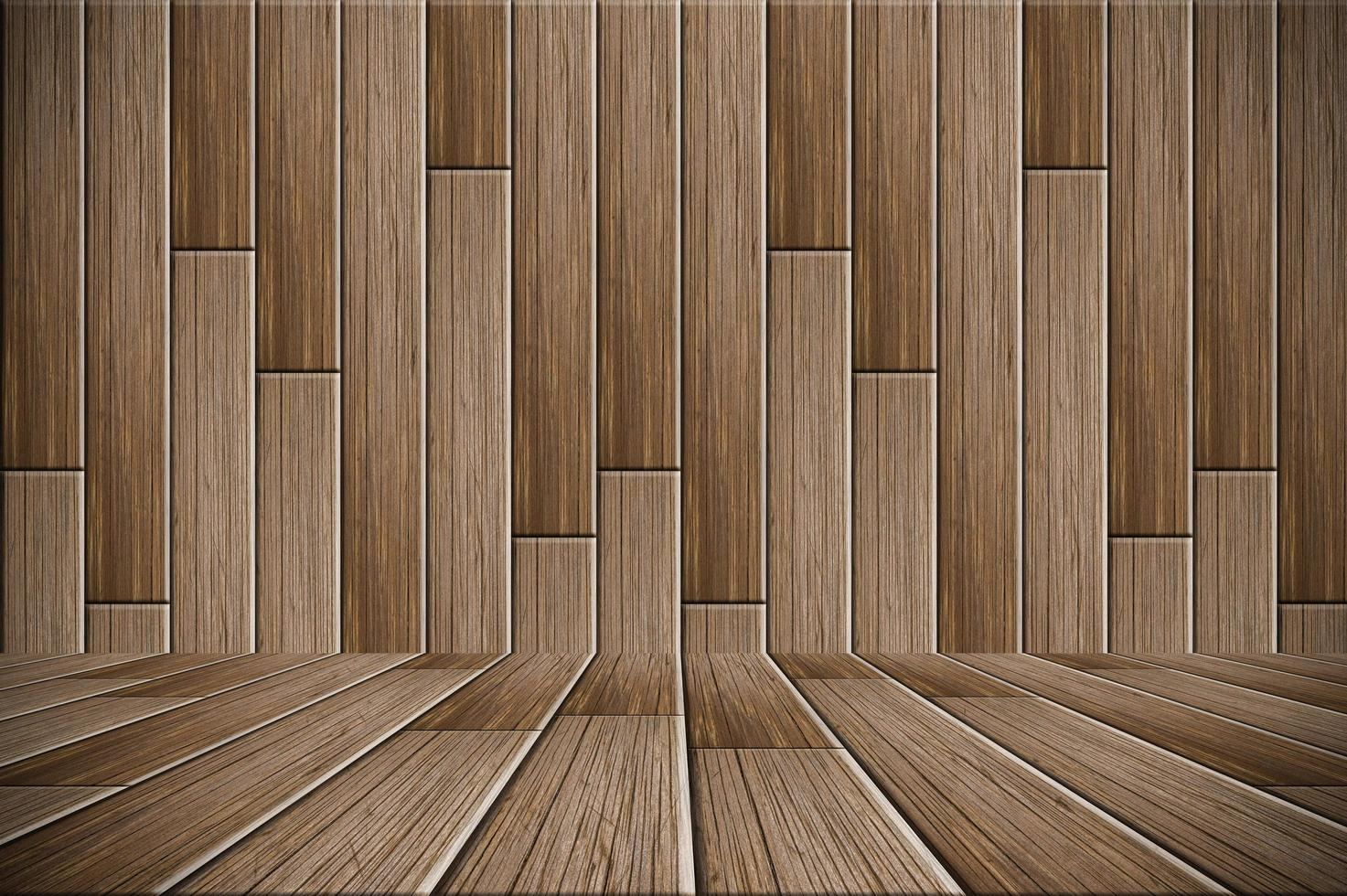 Wooden floor plates photo