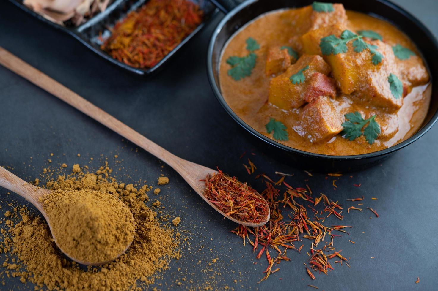 Thai massaman curry photo