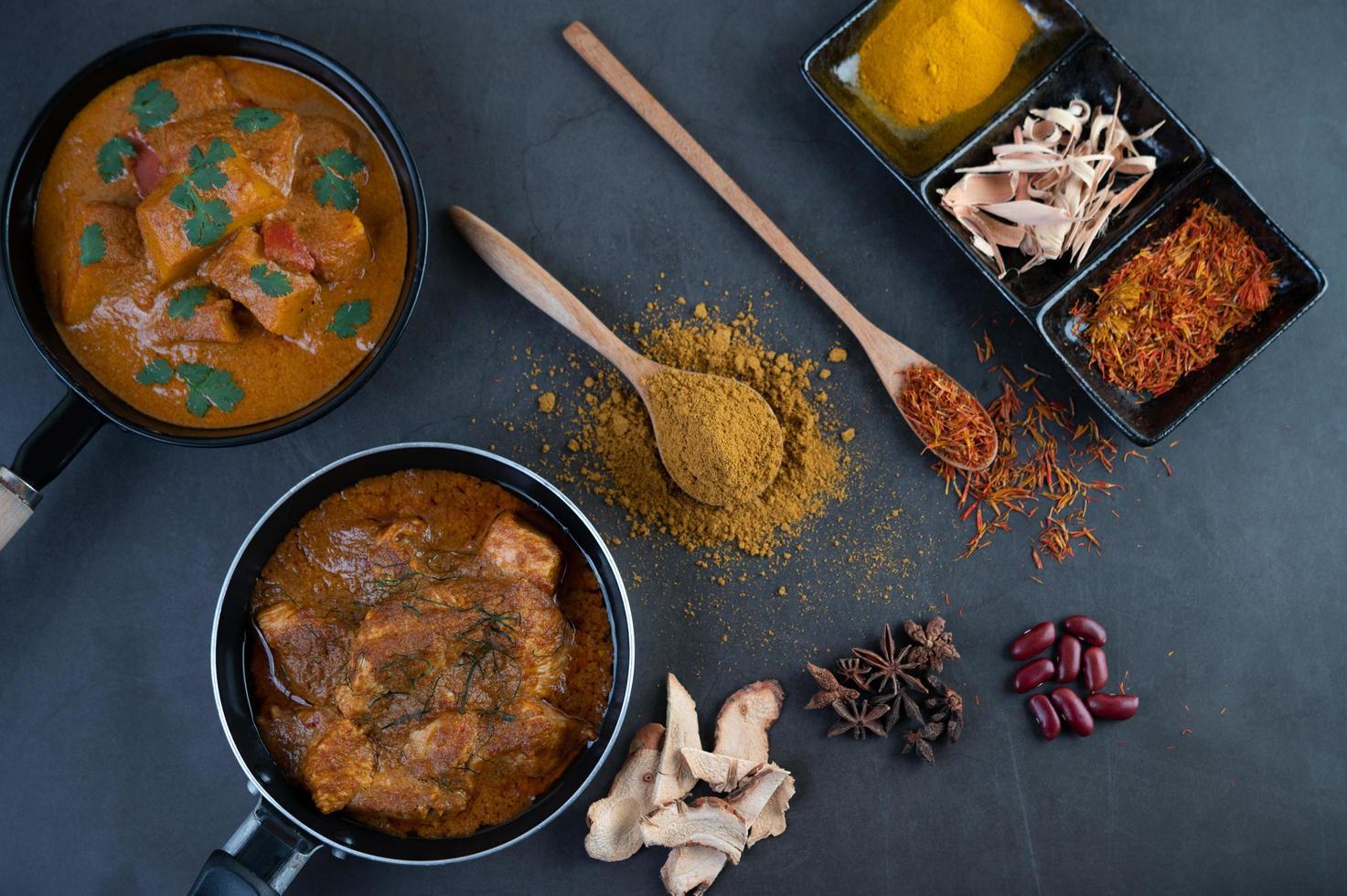 curry thai massaman foto