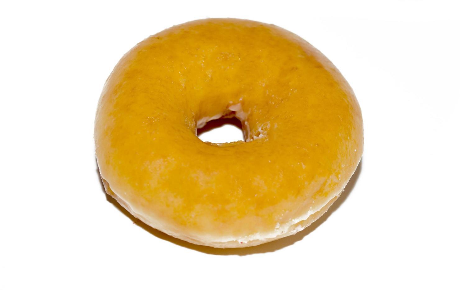 Donut isolated white background photo