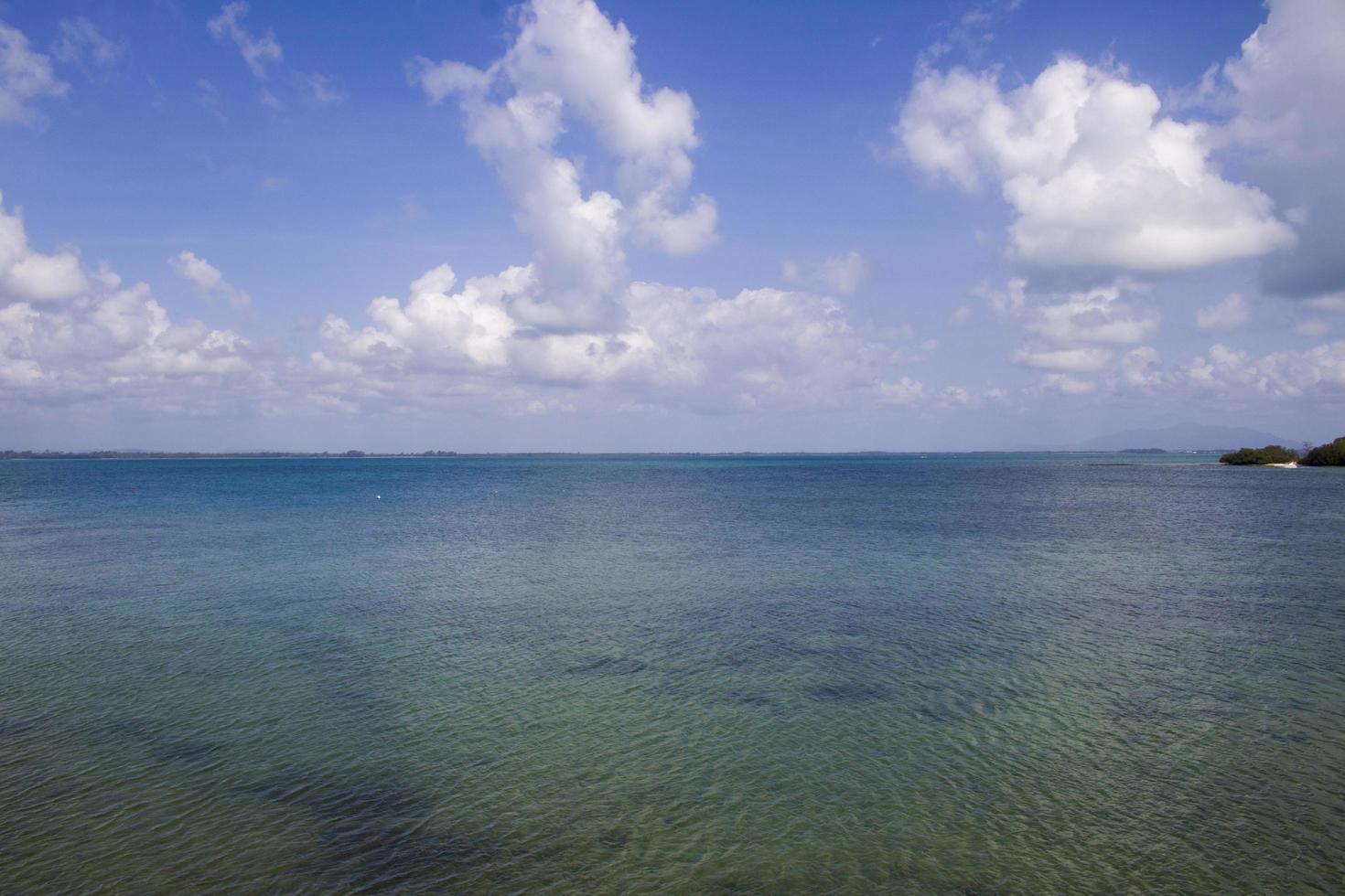 la vista al mar foto