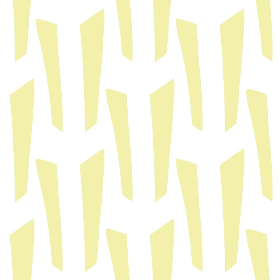 Vector seamless texture background pattern. Hand drawn, yellow, white colors.