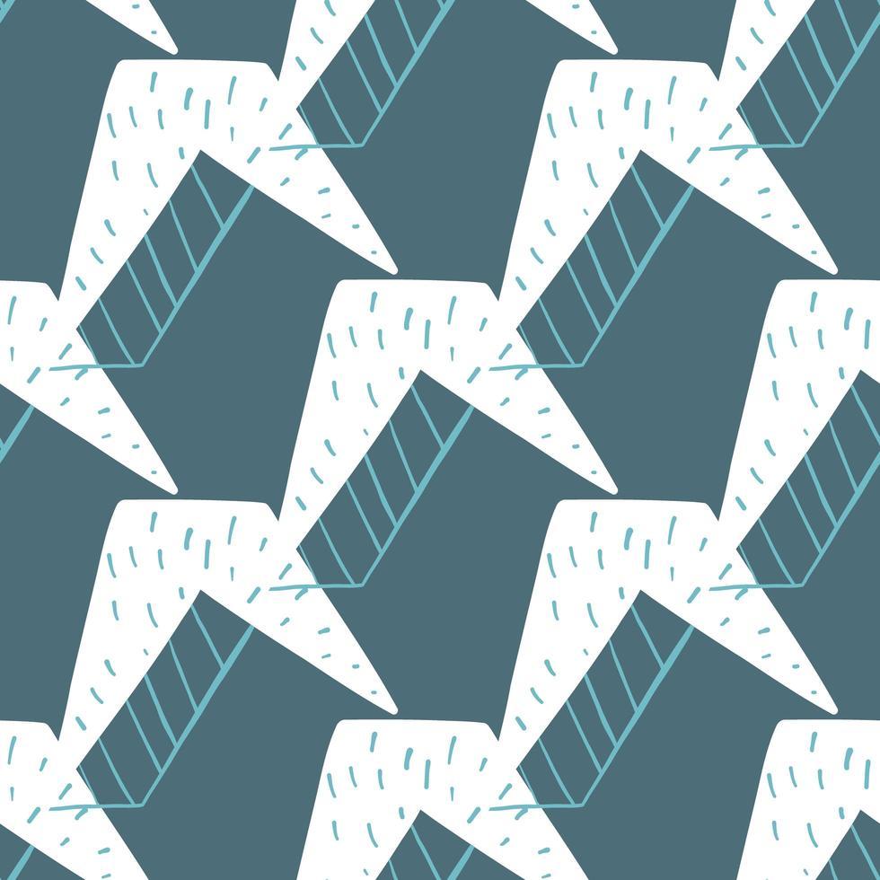 patrón de fondo de textura transparente de vector. dibujados a mano, azul, colores blancos. vector