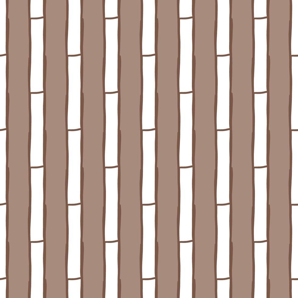 patrón de fondo de textura transparente de vector. dibujado a mano, marrón, colores blancos. vector