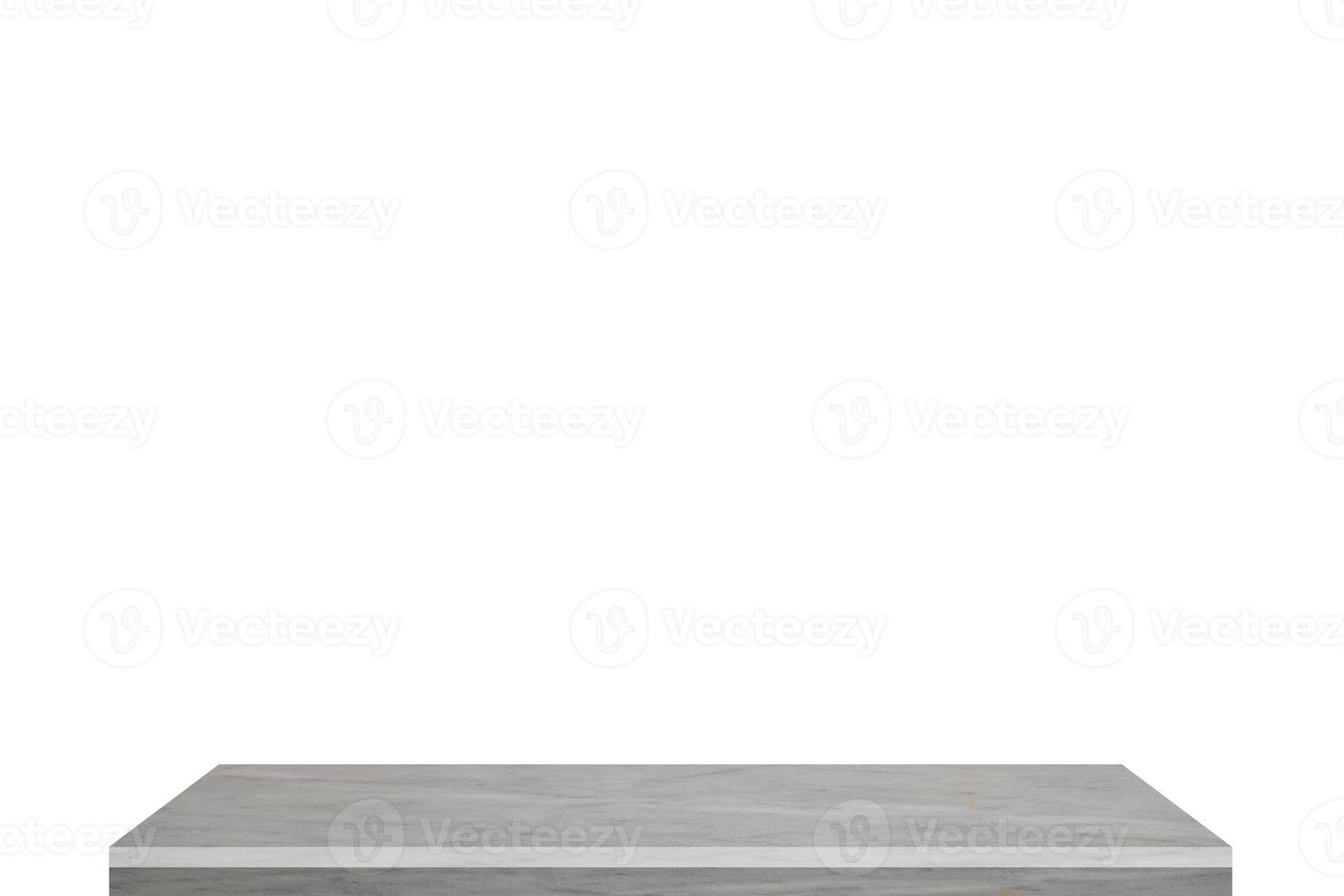 estante blanco sobre fondo blanco foto