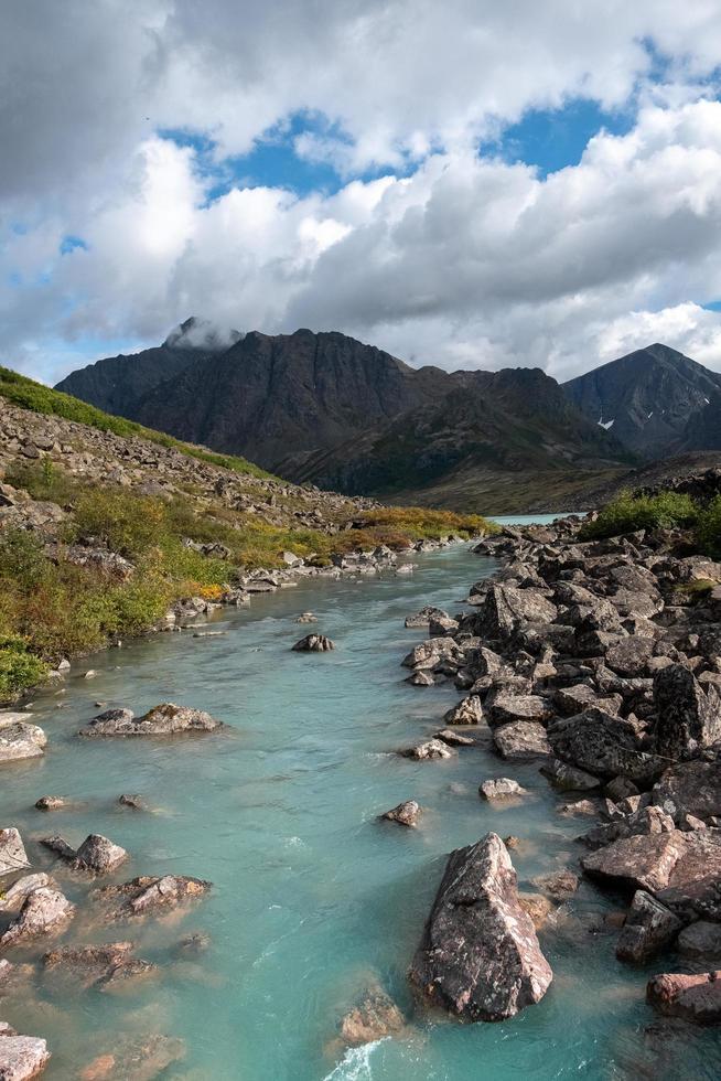 River in Alaska photo