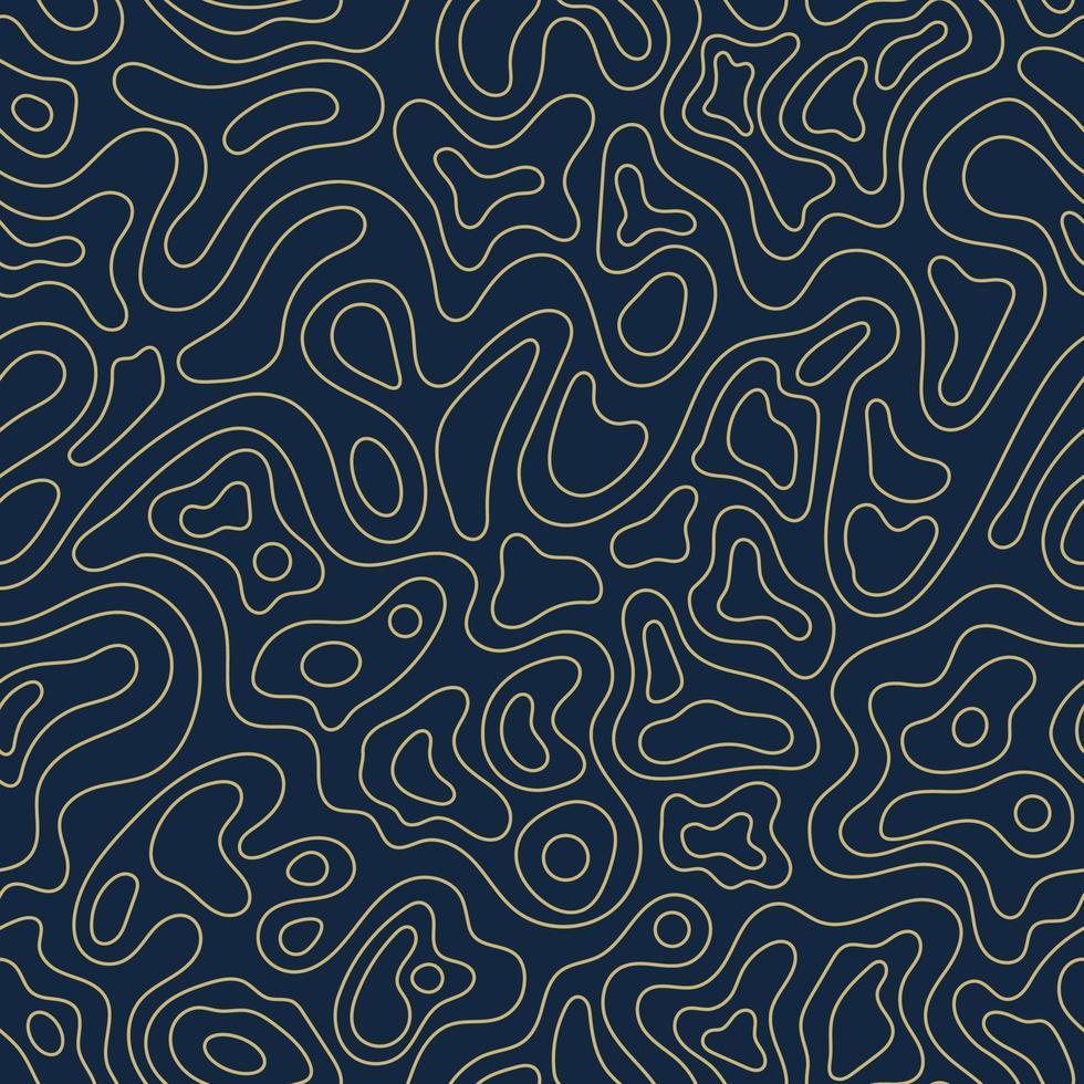 patrón topográfico sin fisuras. vector