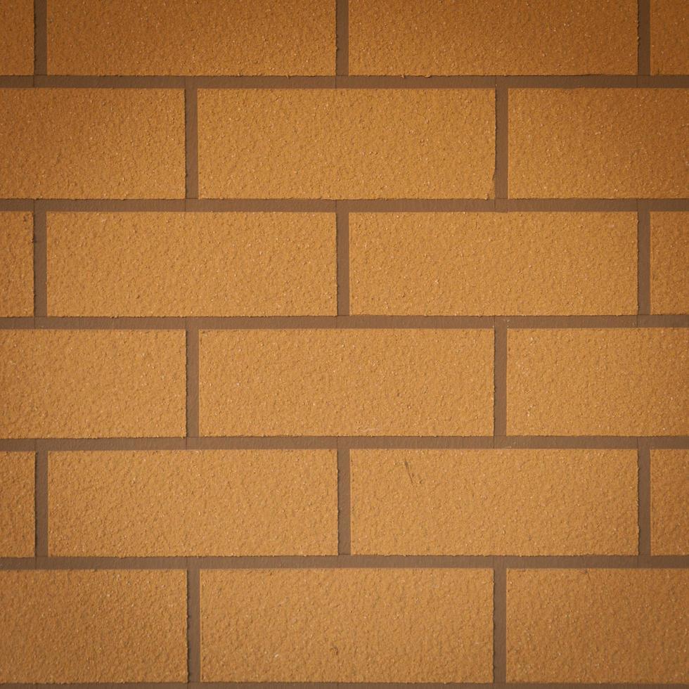 pared de azulejos de ladrillo cuadrado foto