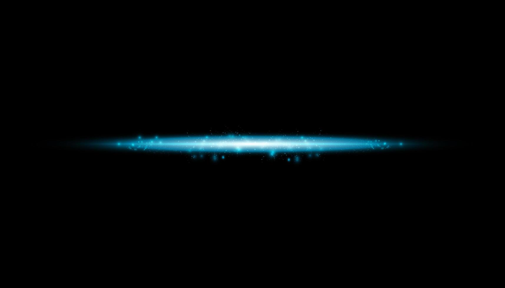 Glow isolated blue transparent effect, lens flare vector