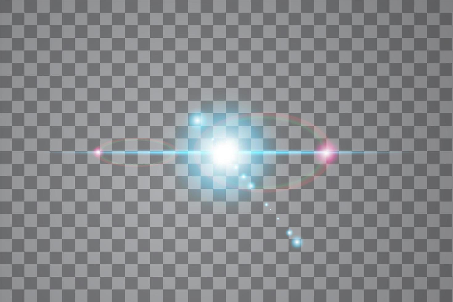 Vector sunlight special lens flare light effect