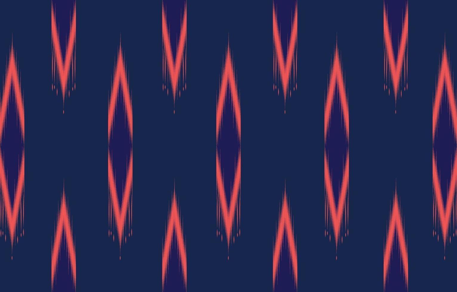 Patrón de ikat oriental étnico geométrico abstracto diseño tradicional para un fondo vector