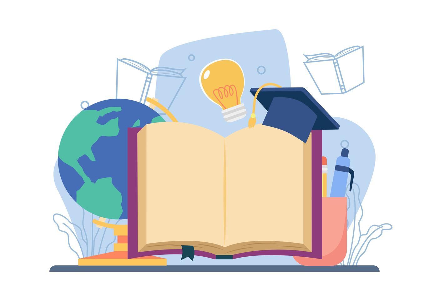 estudiar el concepto de literatura vector