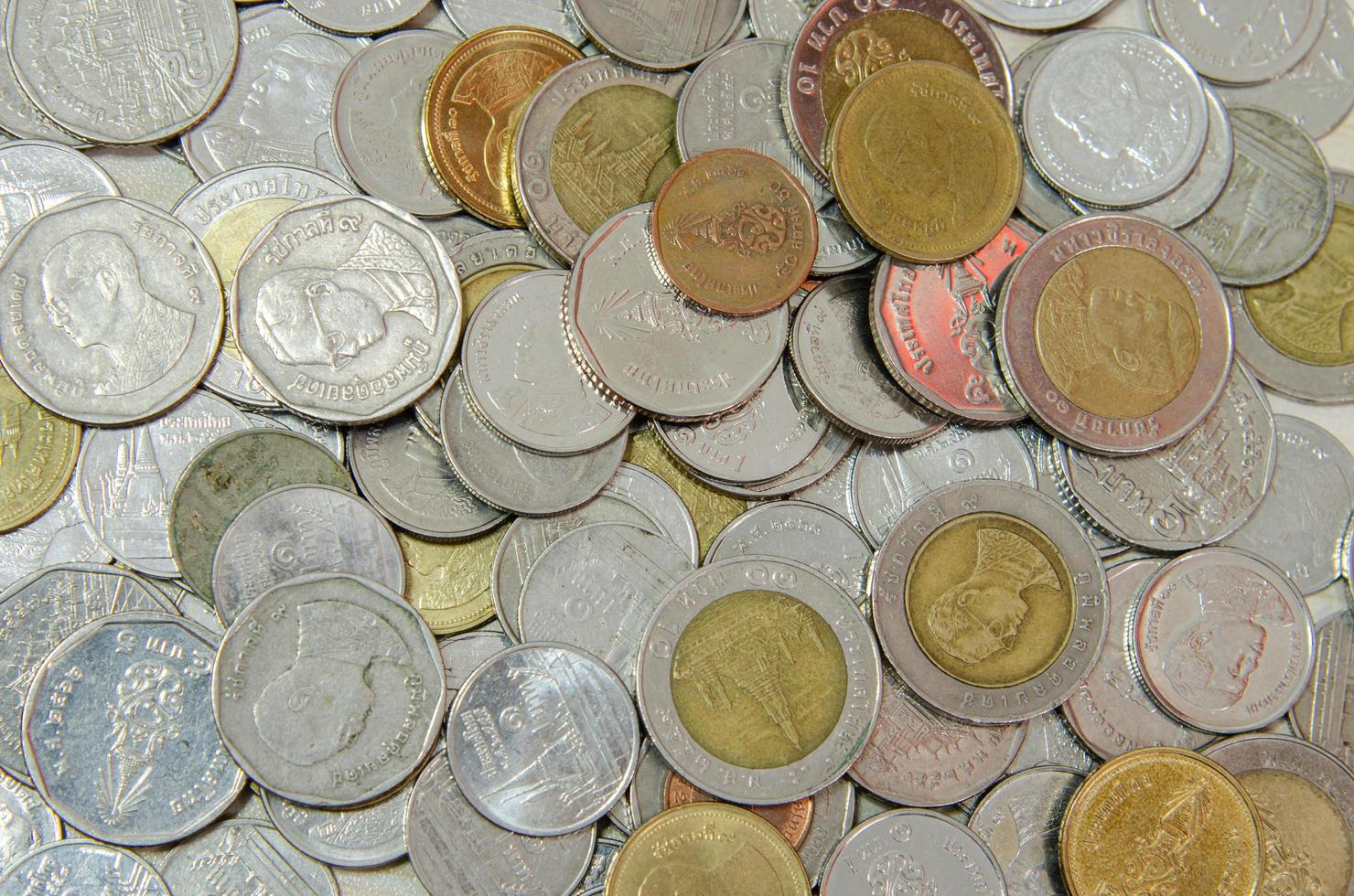 Thai coins pictures