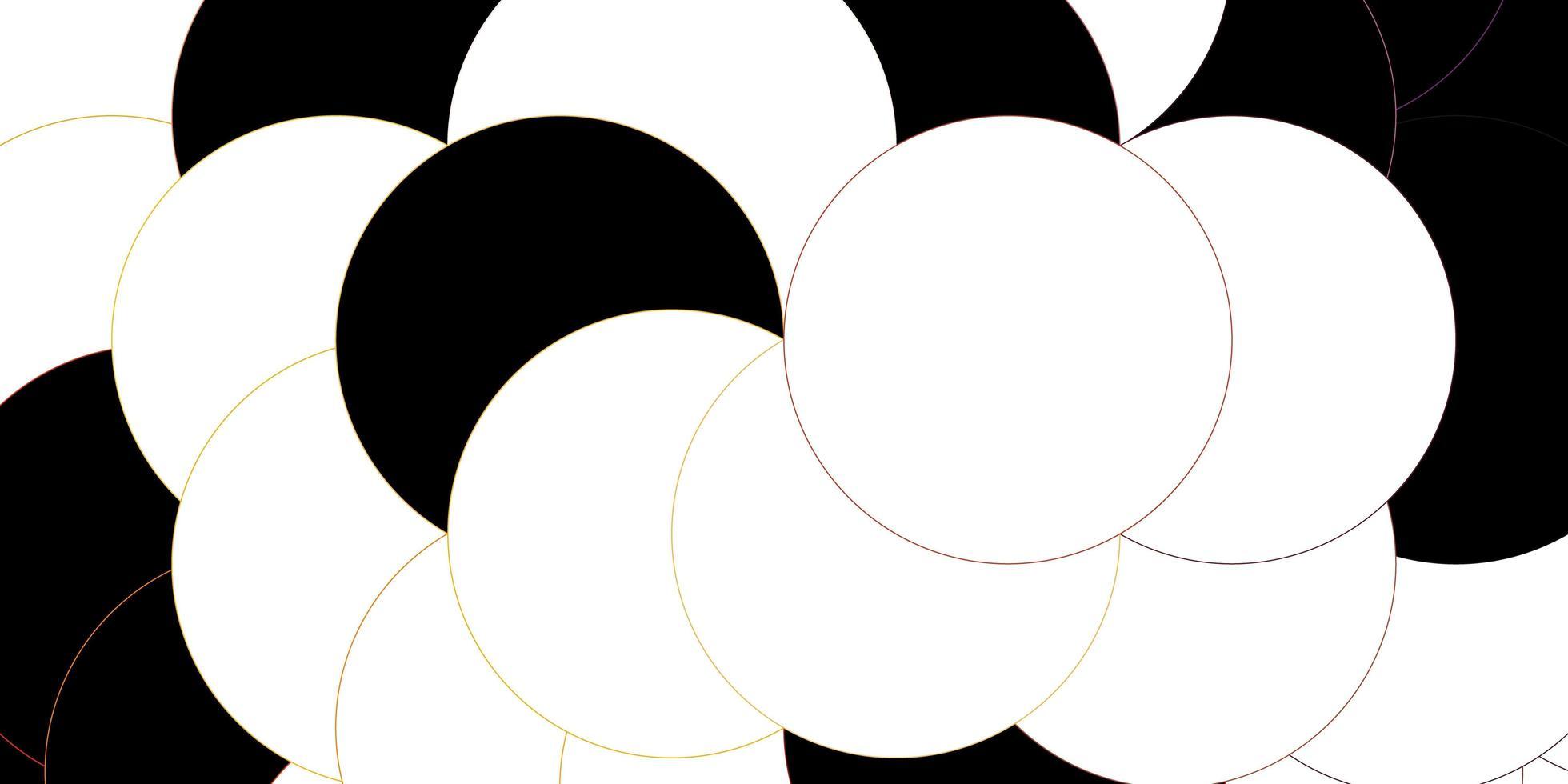 Fondo de vector de color rosa oscuro, amarillo con puntos.